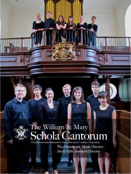The 2013 William & Mary Schola Cantorum